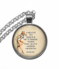 Halsband Darynda Jones Citat Quote Funny