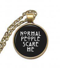 Halsband Brons Silver Citat American Horror Story Quote