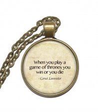 Halsband Cersei Lannister Game of Thrones Citat