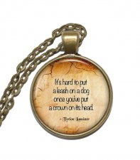 Halsband Tyrion Lannister Game of Thrones Citat Quote