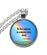 Halsband Maya Angelou Citat Quote