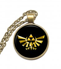 Halsband Brons Silver Triforce Symbol The Legend of Zelda